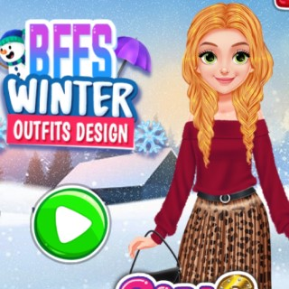 BFFs Winter Outfits Design